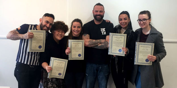 UK Official Tattoo Academy Tattoo Courses in Manchester