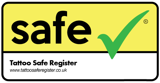 Tattoo Safe Register Logo